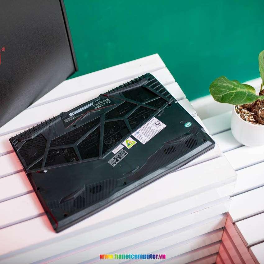Laptop MSI Gaming GL65 Leopard 10SCXK (089VN) (i7-10750H/8GB RAM/512GB SSD/GTX 1650 DDR6/15.6 inch FHD 144Hz/Win 10/Đen) (2020)