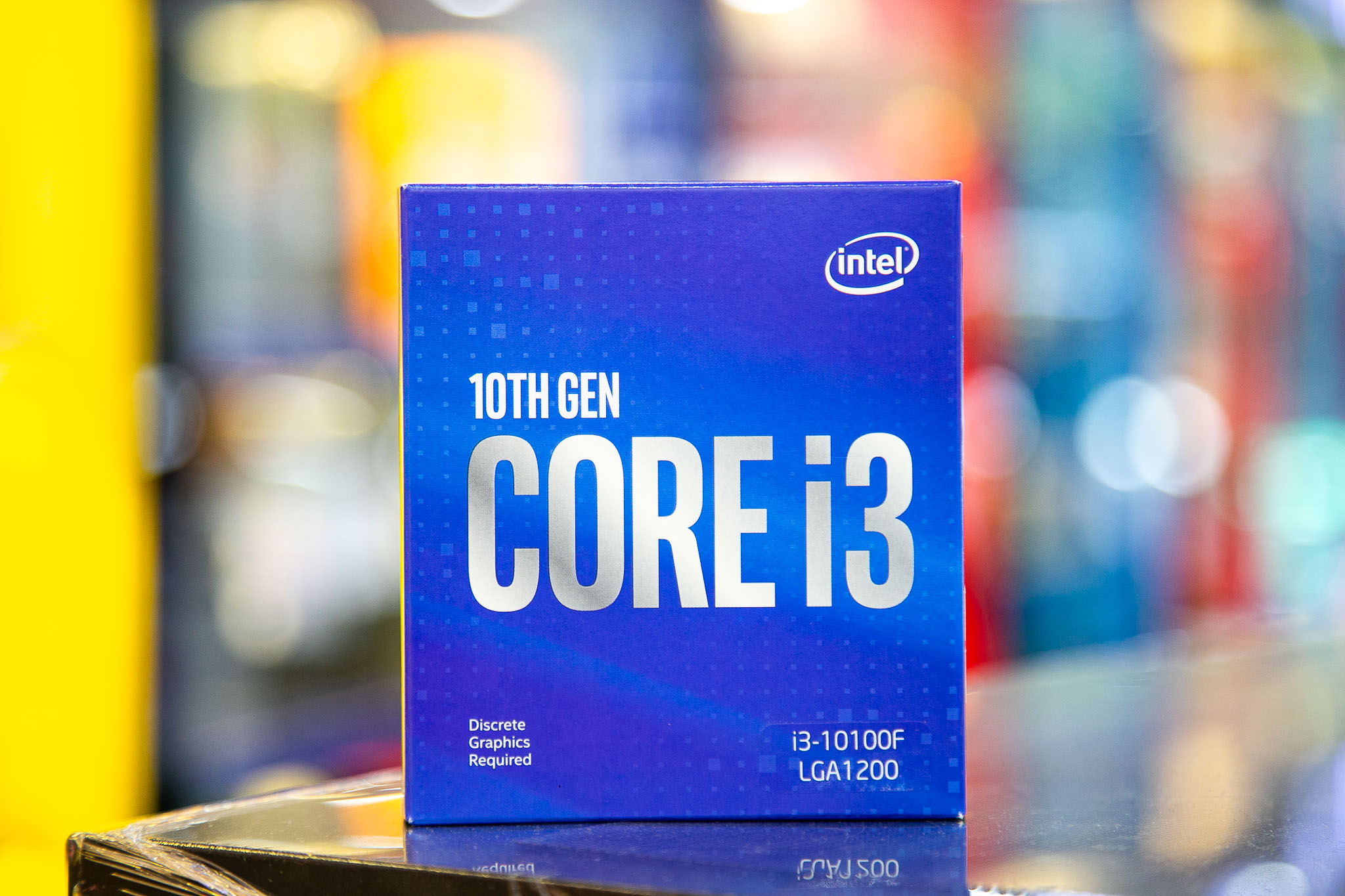 CPU Intel Core i3-10100F