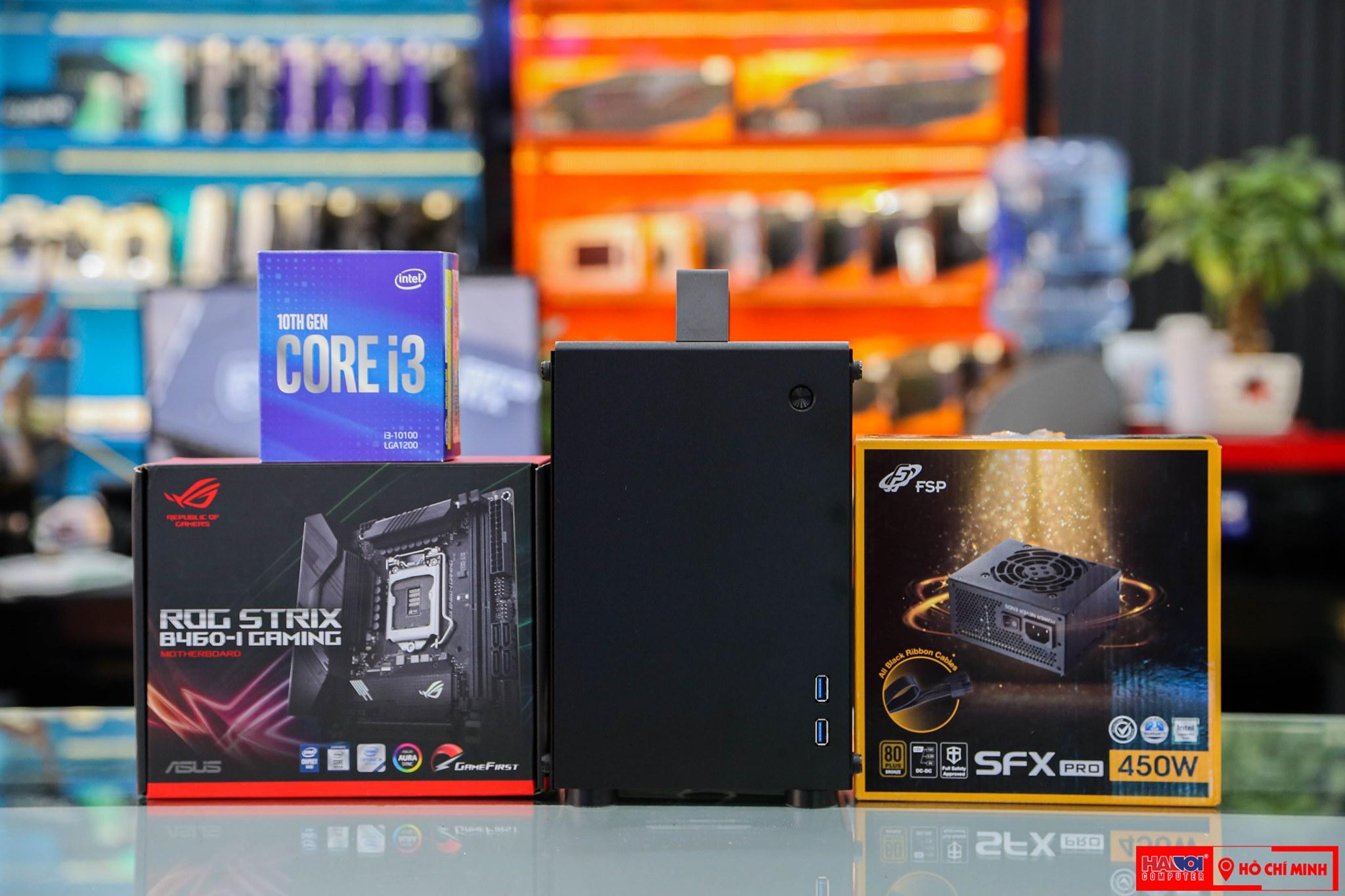 CPU Intel Core i3-10100F