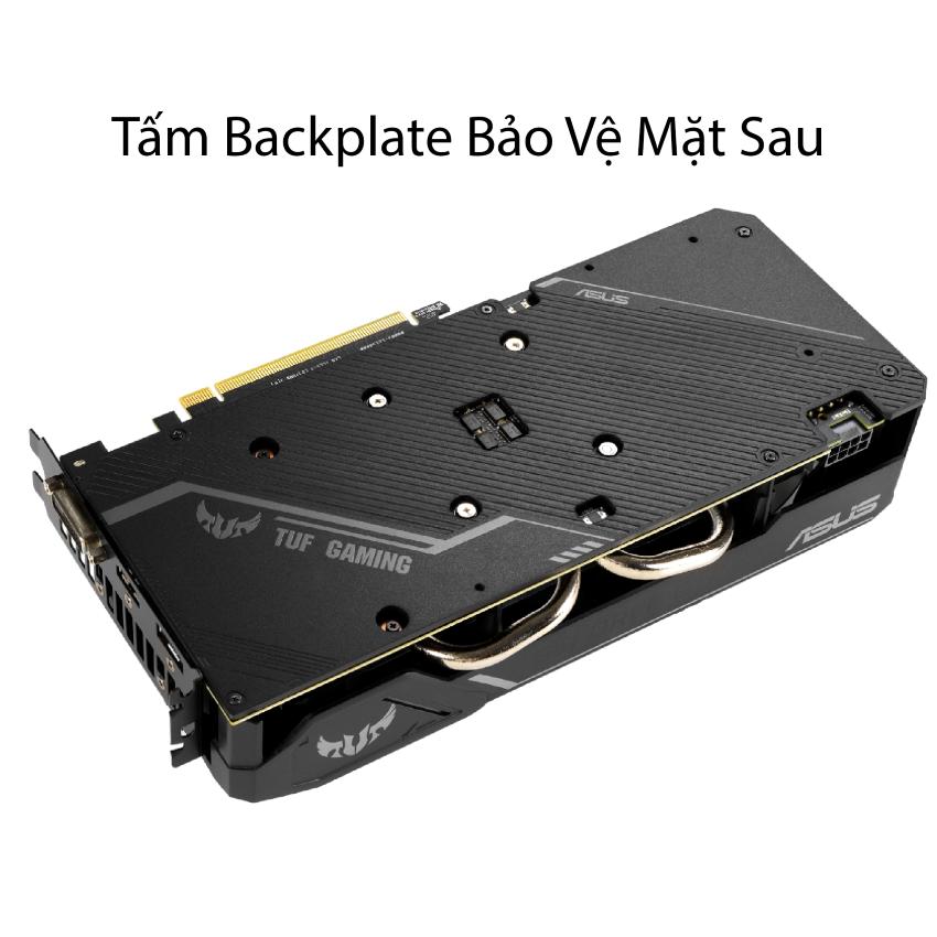 Card màn hình Asus TUF3 GTX 1660 - 6G GAMING (6GB GDDR5, 192-bit, HDMI+DP, 1x8-pin)