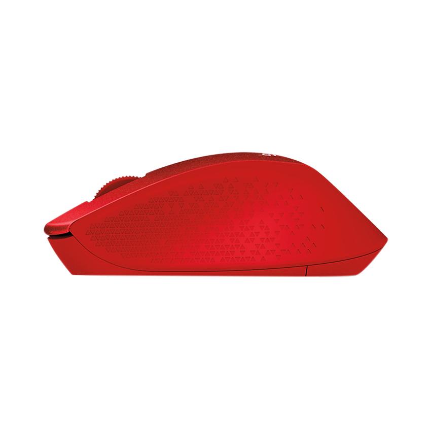 Chuột không dây Logitech M331 (USB/màu đỏ)