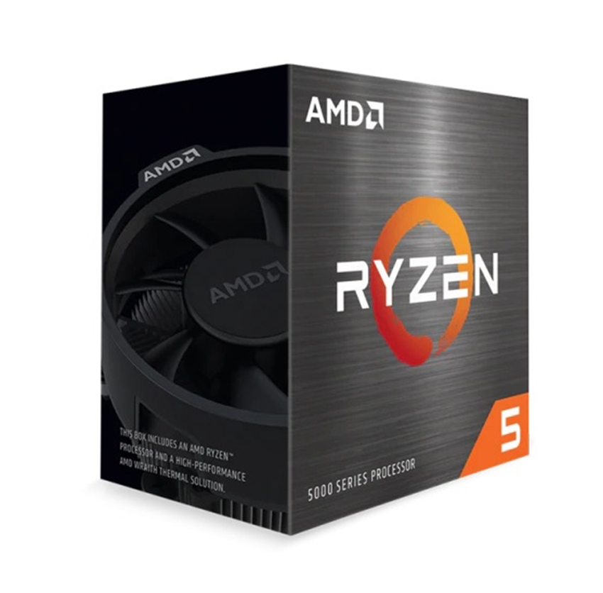 CPU AMD Ryzen 5 5600X (3.7 GHz Upto 4.6GHz / 35MB / 6 Cores, 12 Threads / 65W / Socket AM4)
