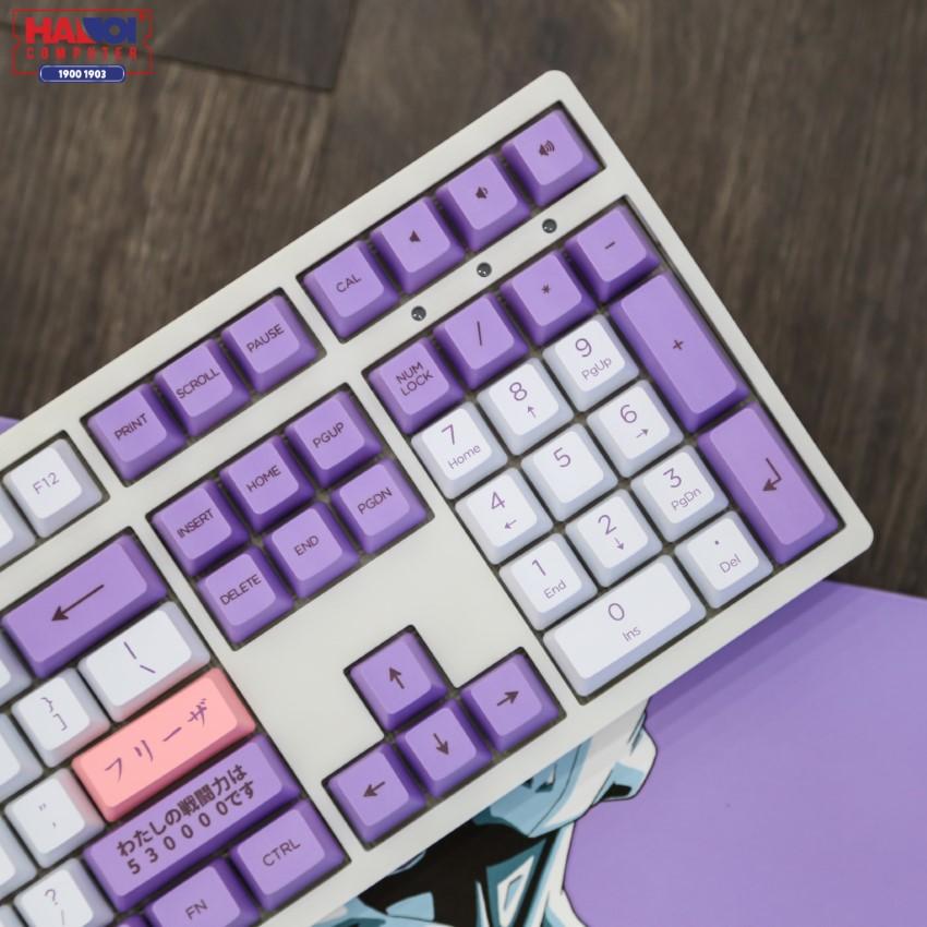 Bàn phím AKKO 3108 Dragon Ball Z - Frieza (Akko Pink sw)