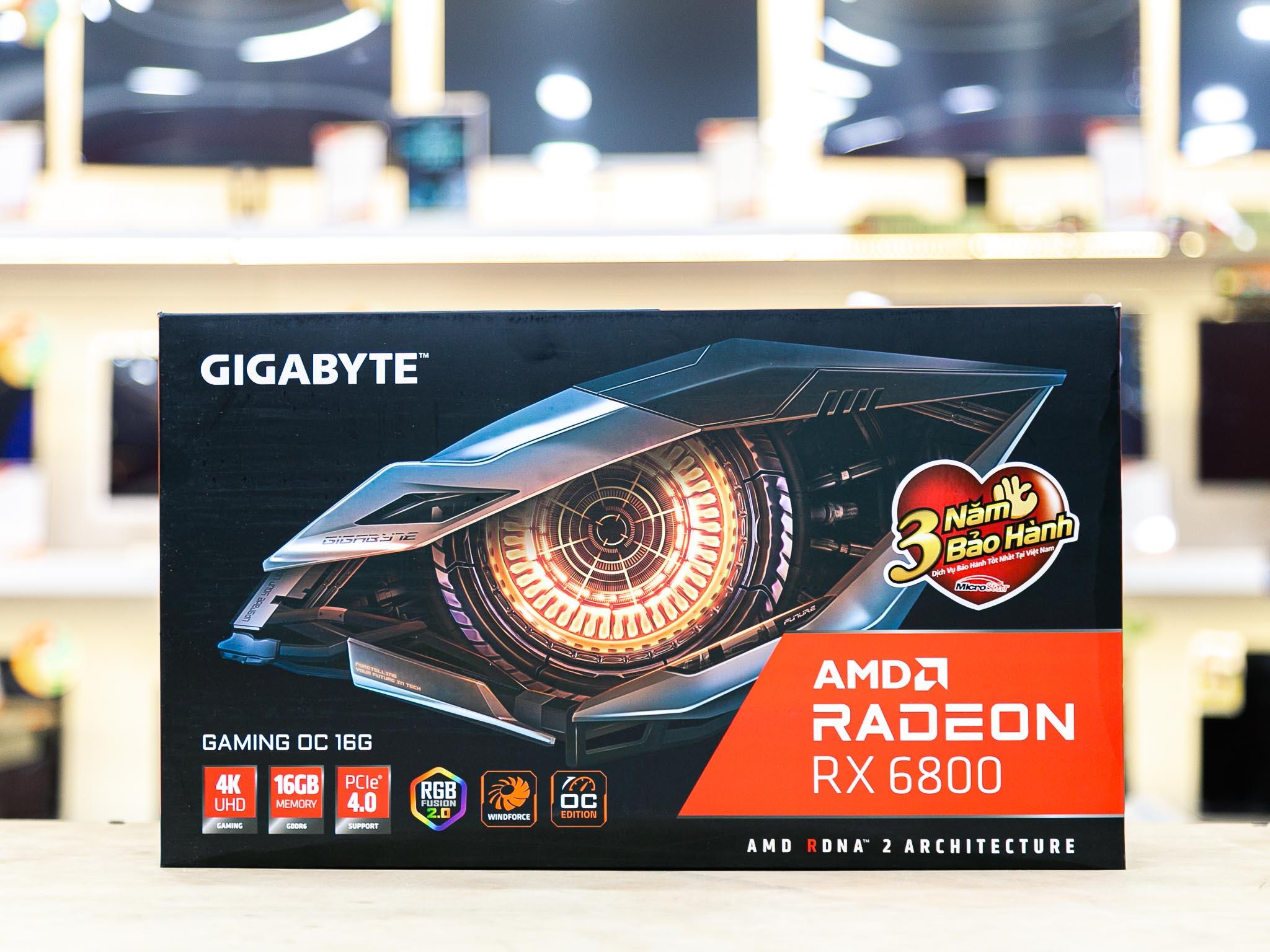 Card màn hình Gigabyte RX 6800 GAMING OC