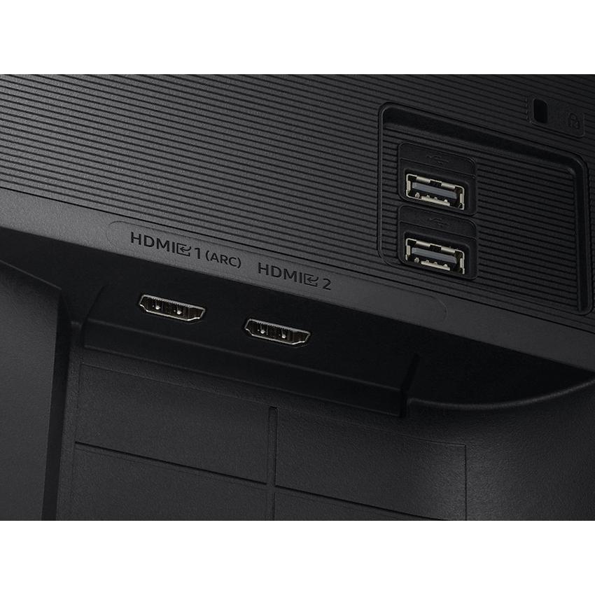 Màn hình Samsung LS27AM500NEXXV (27inch/FHD/VA/60Hz/8ms/250nits/HDMI+USB/Tivi+Remote)