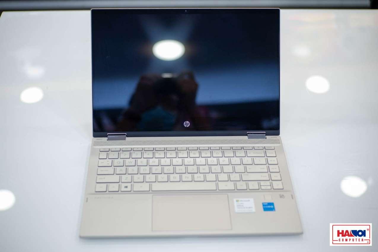 Laptop HP Pavilion x360 14-dw1019TU (2H3N7PA) (i7 1165G7/8GB RAM/512GB SSD/14 Touch FHD/Win10/Office/Bút/Vàng)
