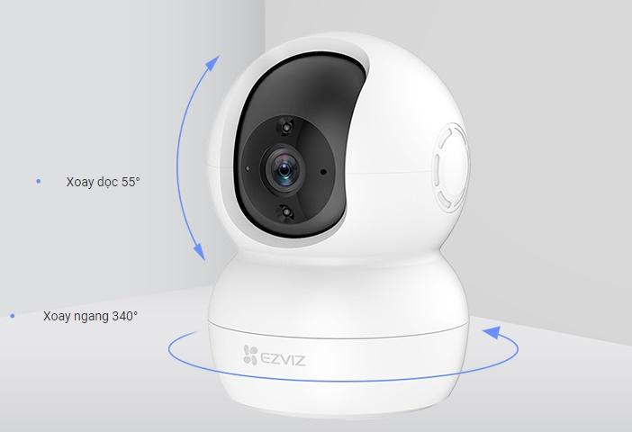 Camera không dây Ezivz TY2 1080p xoay 360 độ