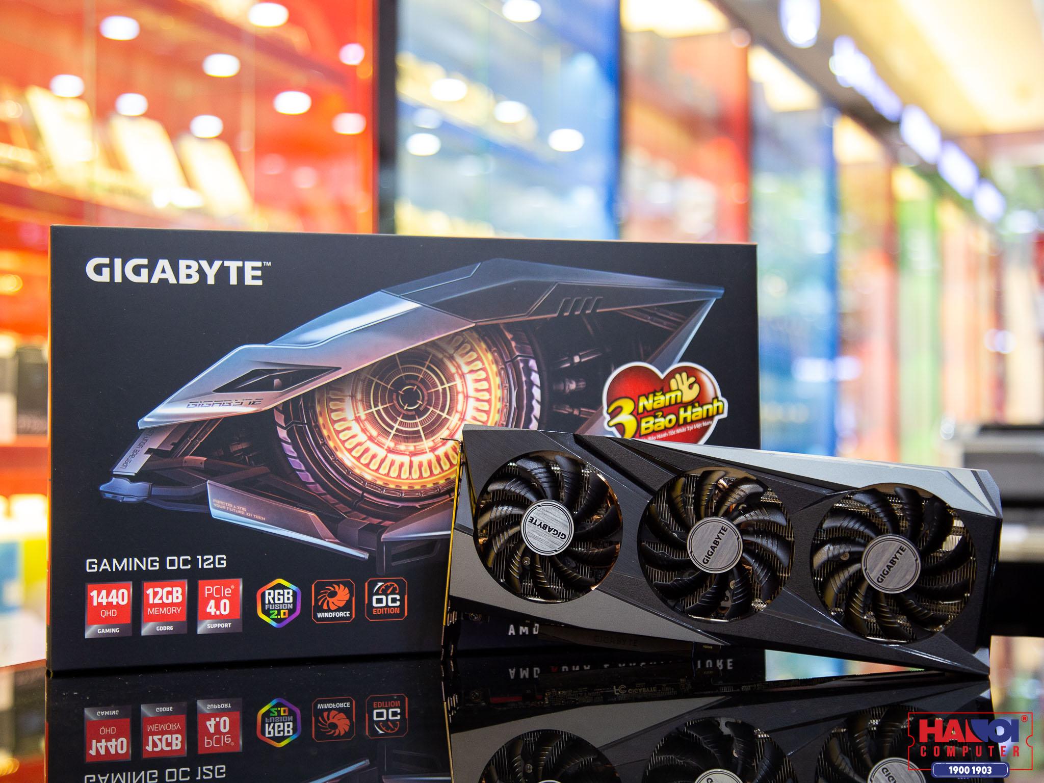 Card màn hình Gigabyte RX 6700 XT GAMING OC