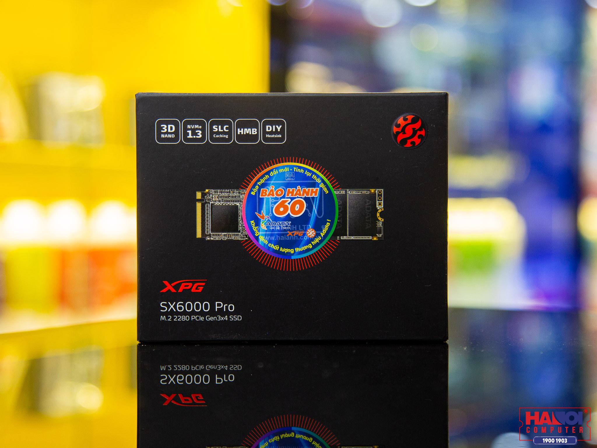 Ổ cứng SSD Adata SX6000PNP 512GB M.2 2280 PCIe NVMe Gen 3x4 (Đọc 2100MB/s - Ghi 1400MB/s) - (ASX6000PNP-512GT-C)