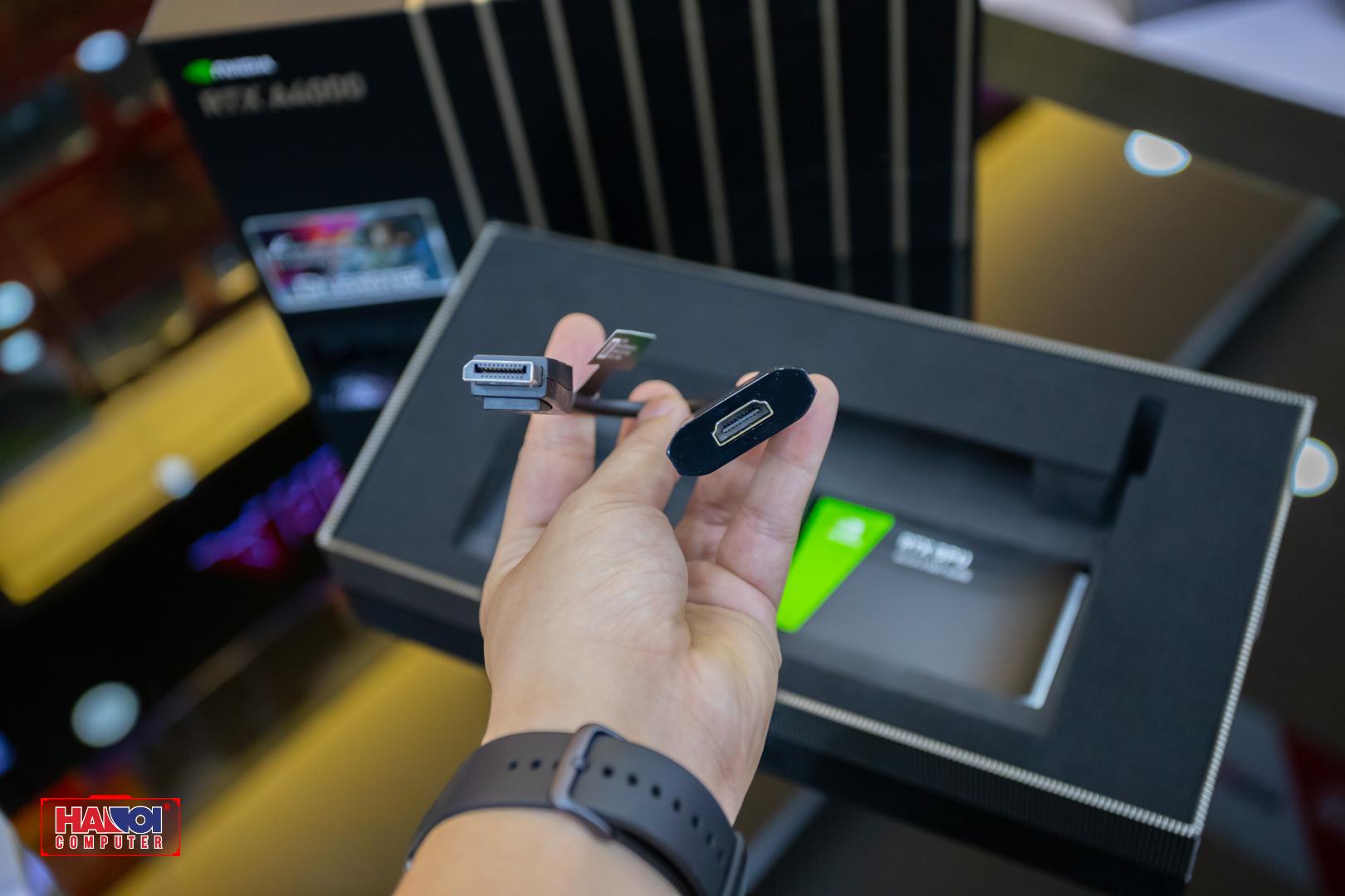 Card màn hình NVIDIA RTX A4000 (16GB GDDR6, 256-bit, 4x DisplayPort, 1x 6-pin)