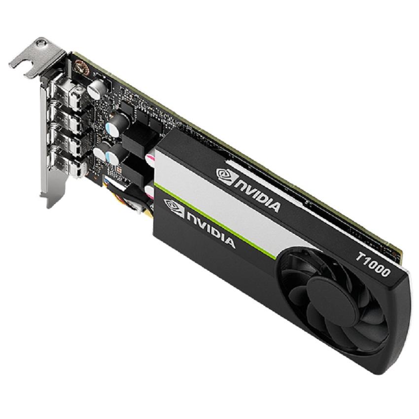 Card màn hình NVIDIA T1000 (4GB GDDR6, 128-bit, 4x mini DisplayPort)