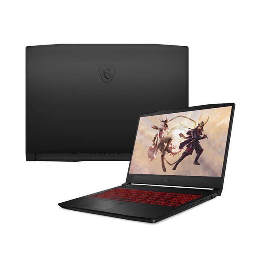Laptop MSI Gaming Katana GF76 (11UC-096VN) (i7 11800H 8GB RAM/512GB SSD/RTX3050 4GB/17.3 inch FHD 144Hz/Win10/Đen) (2021)