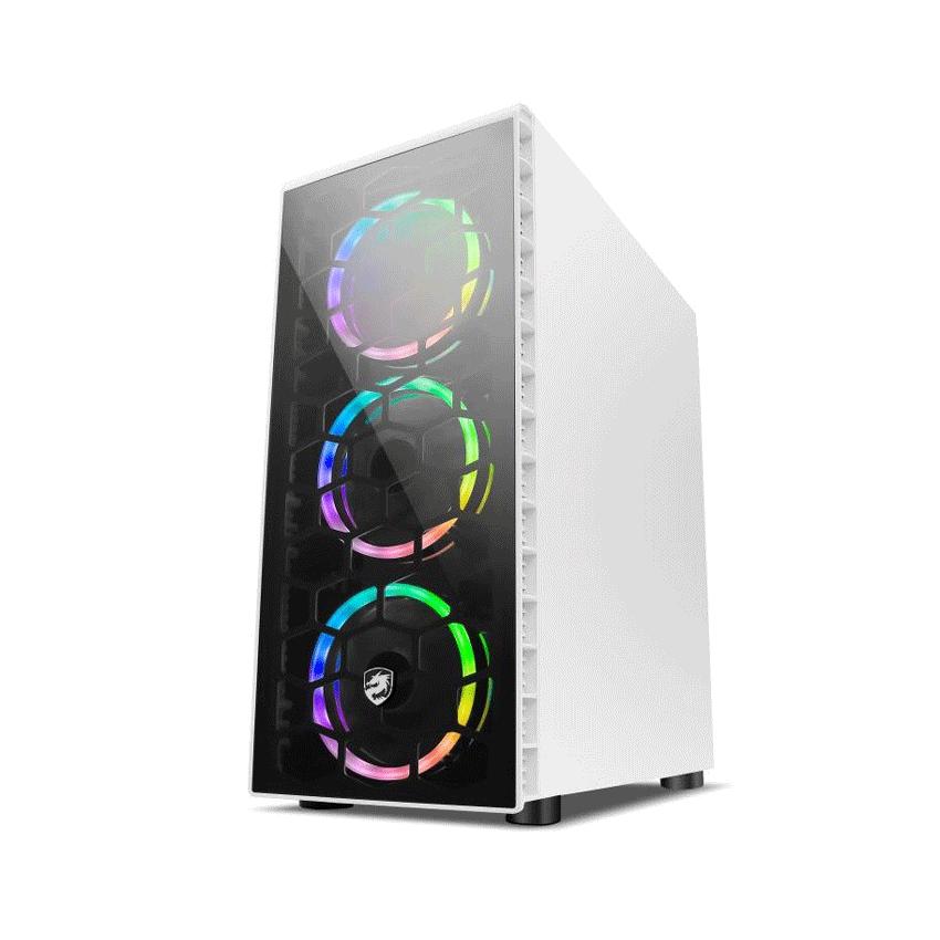 Vỏ Case Vitra POSEIDON G1 White (Mid Tower / Màu Trắng)